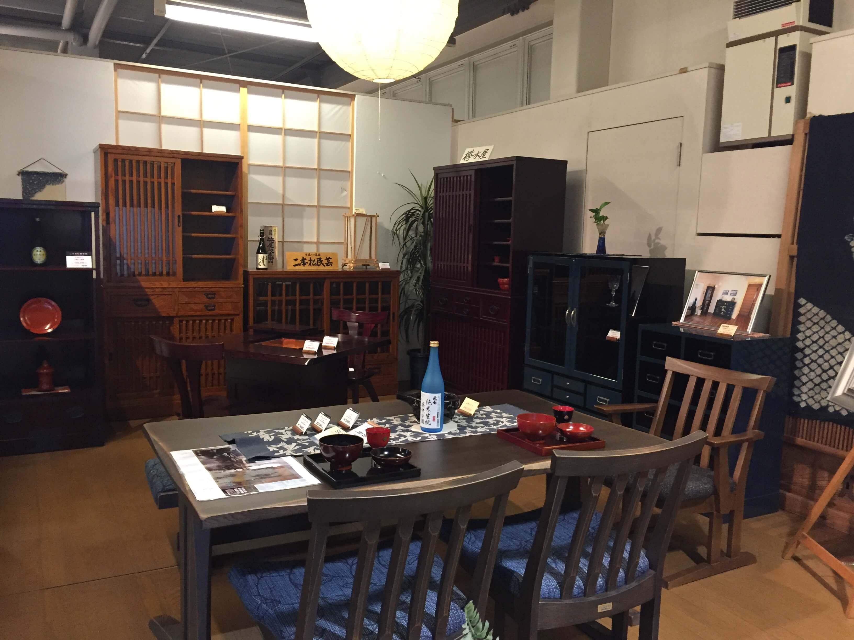 福島県伝統的工芸品指定「二本松伝統家具展」