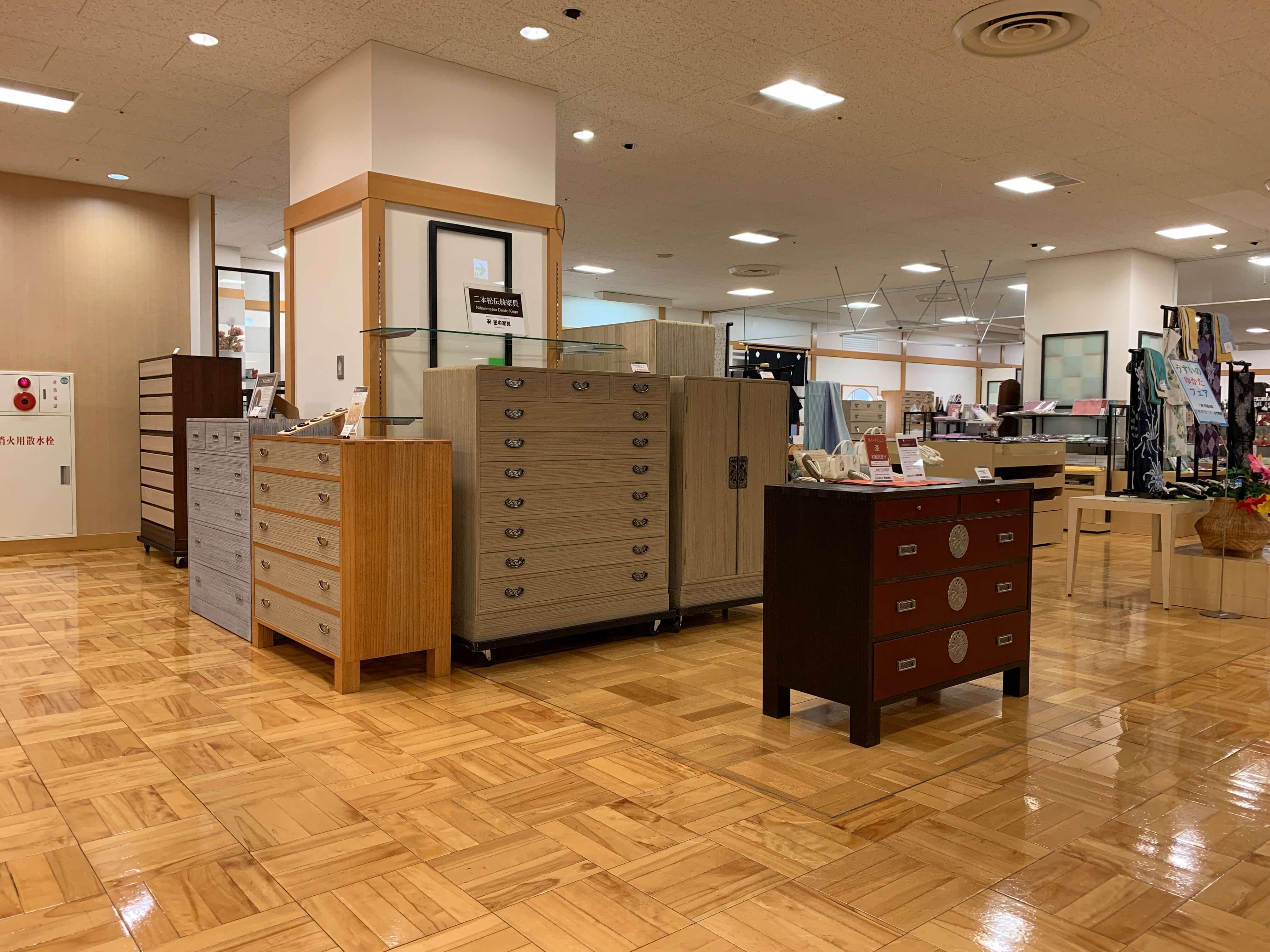 うすい百貨店 田中家具特別販売会
