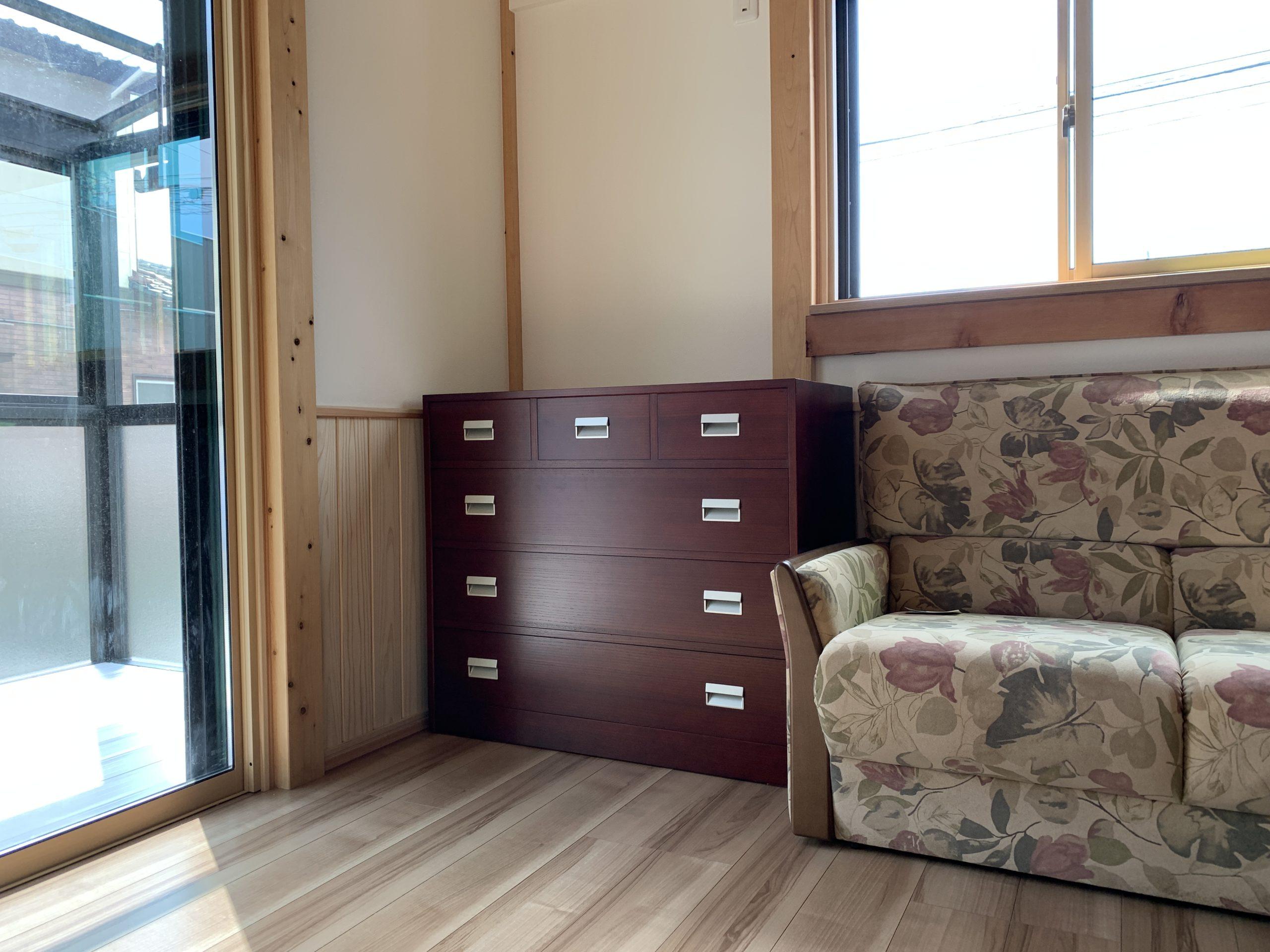 総桐チェスト 三の三 二本松伝統家具