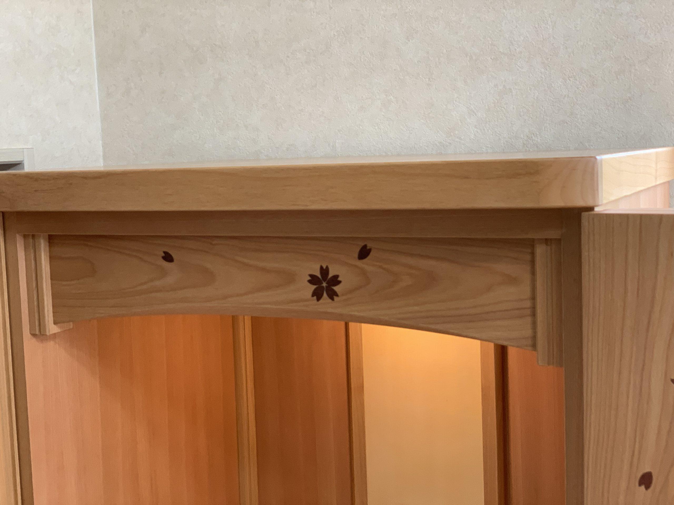 桜のお仏壇
