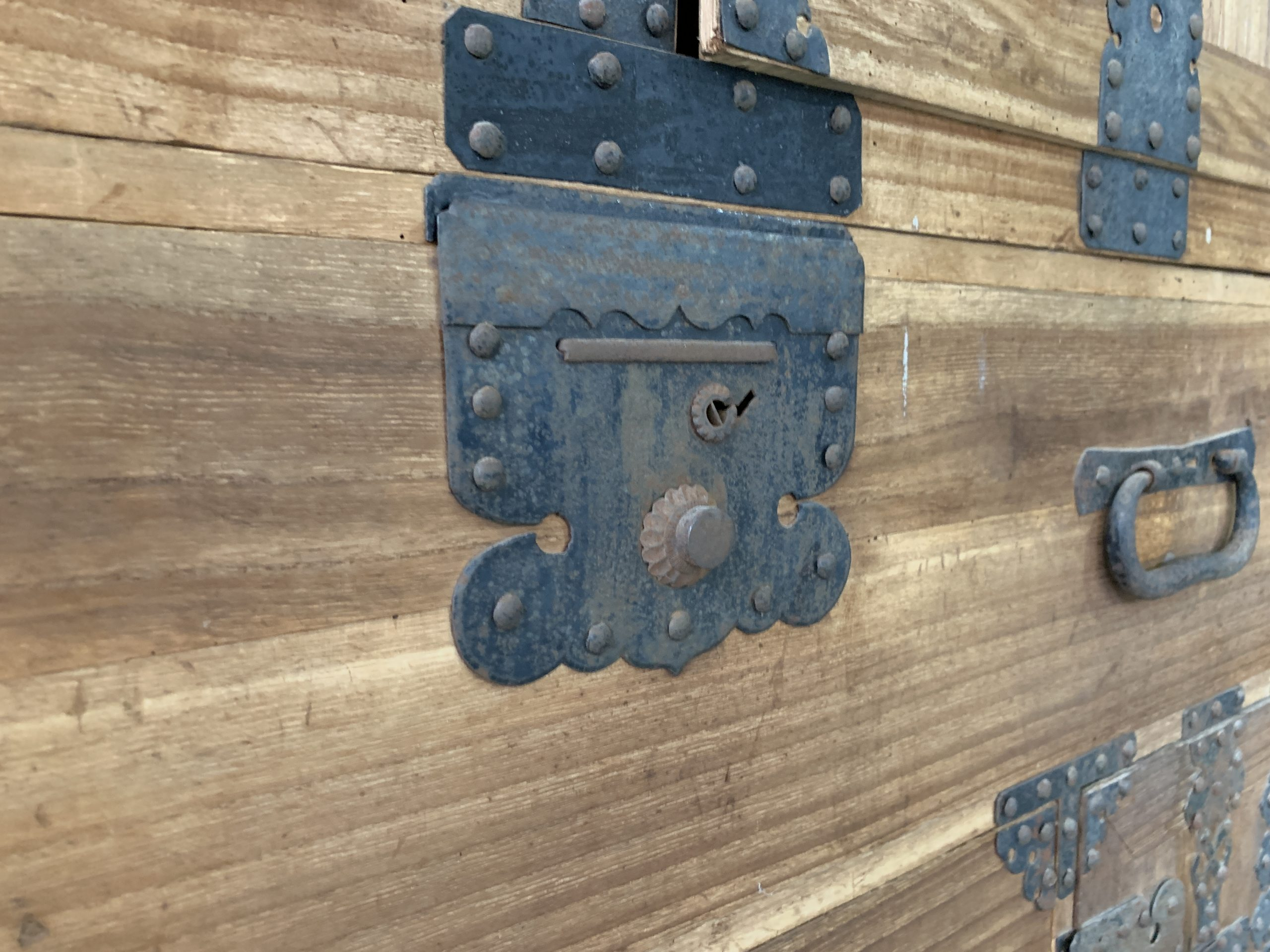 Renovated Paulownia Wood Chest