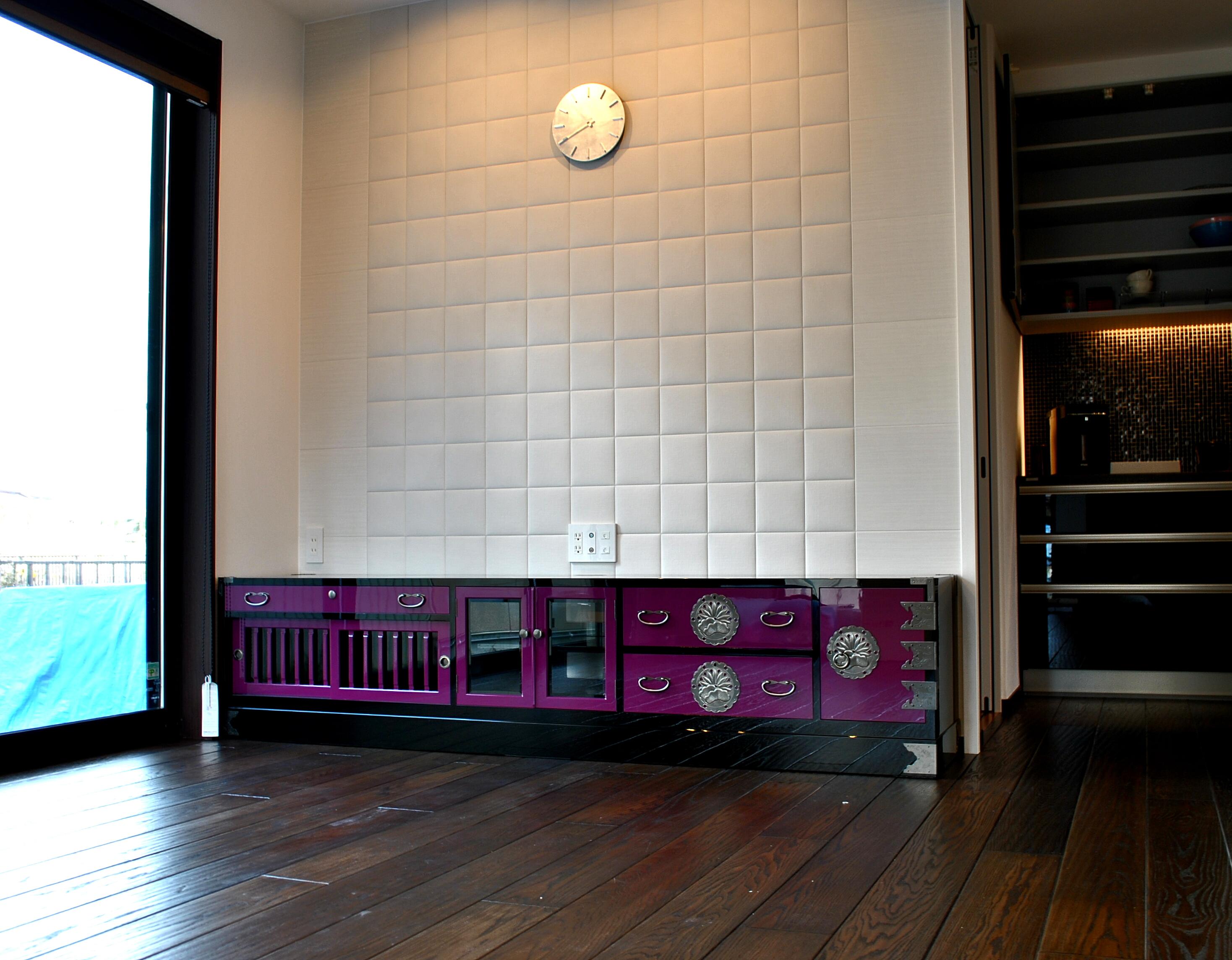 二本松伝統家具 和モダンスタイル テレビボード