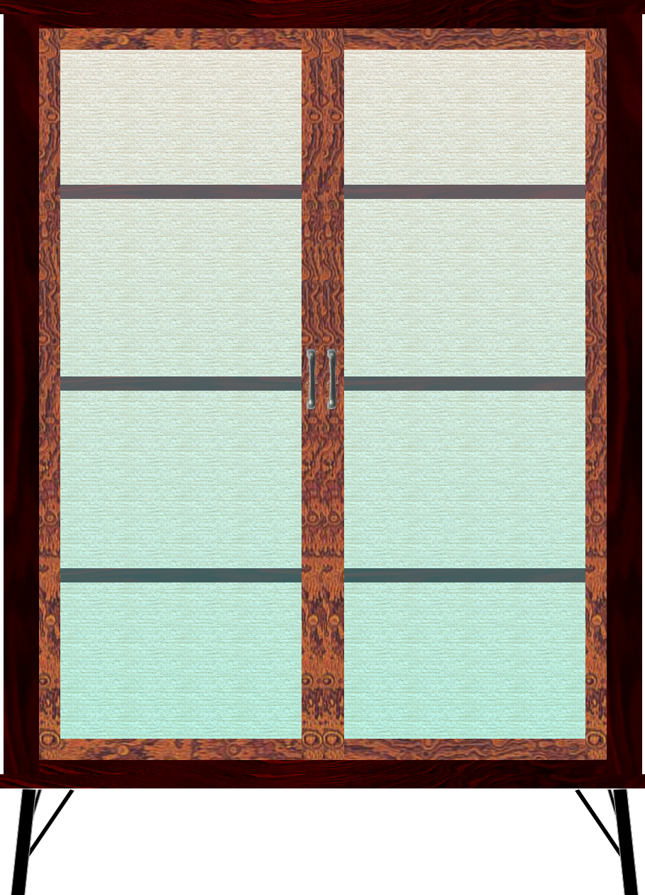 二本松伝統家具 欅ModernStyle コレクションボード90