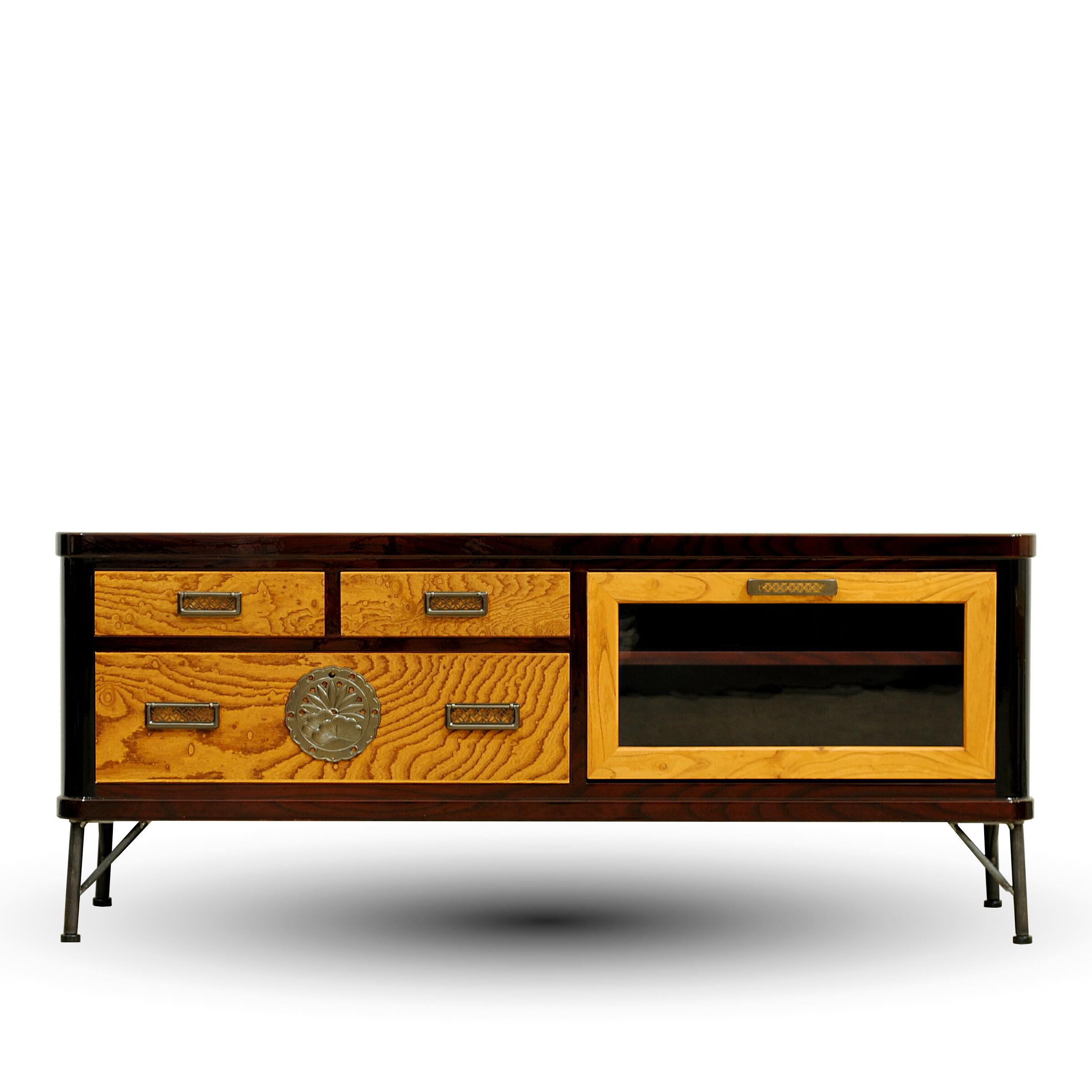 二本松伝統家具 欅ModernStyle ローボード120