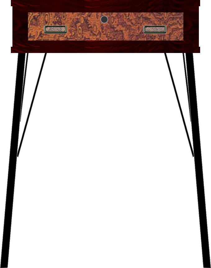 二本松伝統家具 欅ModernStyle コンソールテーブル60