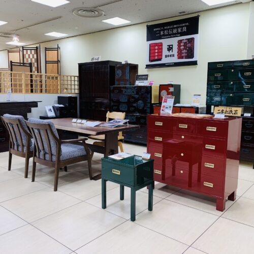二本松伝統家具@仙台三越
