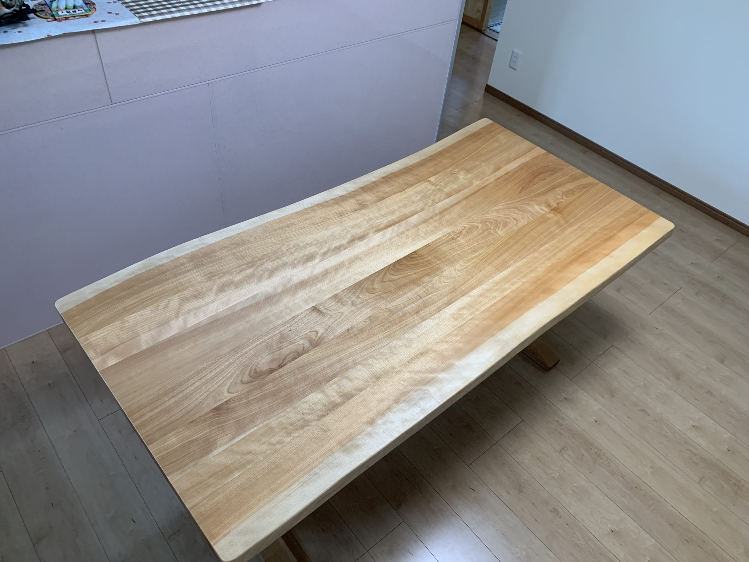 カバ桜ダイニングテーブル