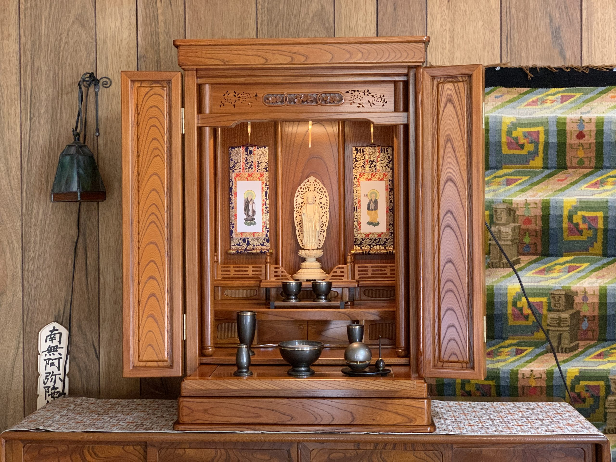 本欅上置お仏壇