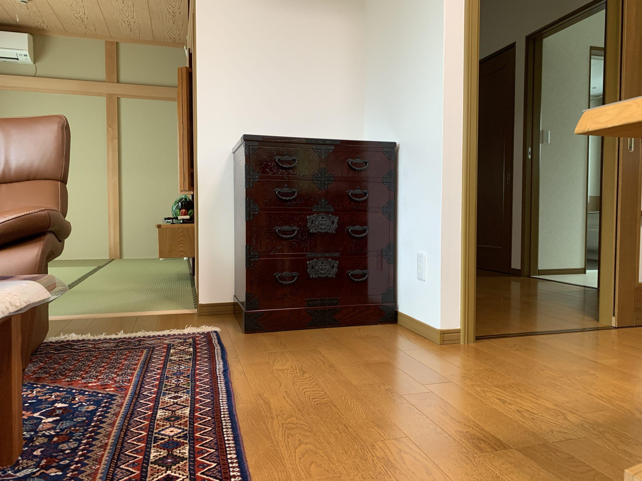 二本松伝統家具 特注欅民芸チェスト